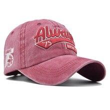 TOPMELON zawsze 75 kapelusz regulowane litery haft czapka z daszkiem bawełna Snapback granatowy żółty czarny biały czapki darmowa wysyłka