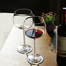 Europe Lead free crystal glass cup High capacity Brandy glasses wine glasses wedding glasses party hotel home accessories fashion free shipping lead free crystal handmade blown beer glass beverage juice cup household large capacity drinking utensils