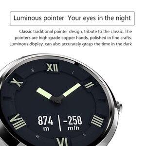 Image 4 - Reloj Inteligente Lenovo X Edición Deportiva BT5.0 Puntero Luminoso Pantalla OLED Reloj de Pulsera de Doble Capa de Silicona
