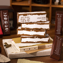 Scrapbooking-Decoration Wood-Stamps Rubber-Seal Journal-Supplies Cute Yoofun Collection-Series