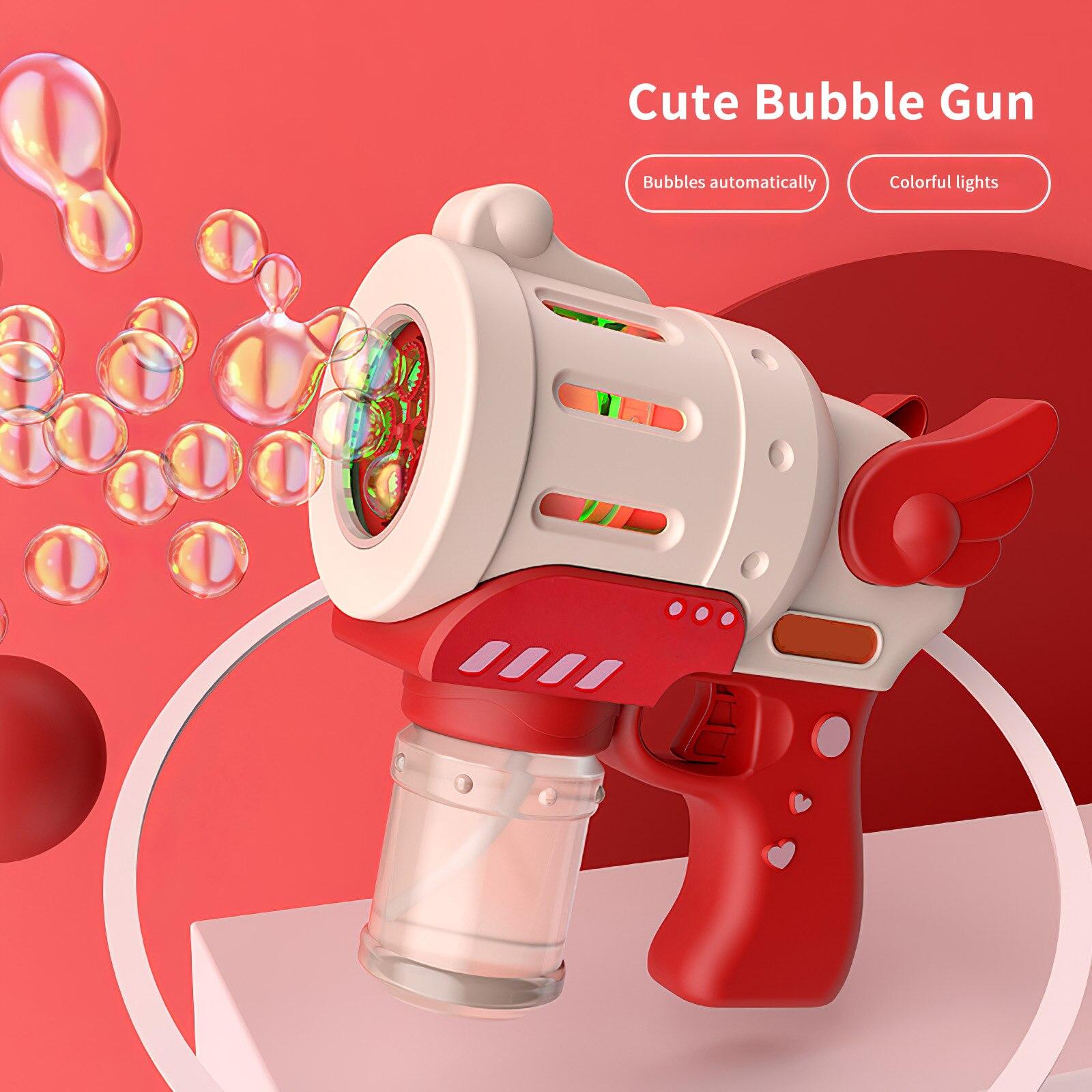 Стильная пузырчатая машина, пузырчатая машина для непрерывного потока, автоматическая пузырчатая машина для помещений и улицы для детей