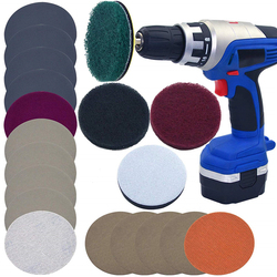 Новейший набор для самостоятельного ремонта автомобильных фонарей, набор для ремонта автомобильных фар P240, шлифовальный диск для швабры, к...