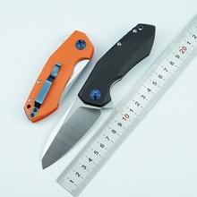 LEMIFSHE ZT 0456 taktik katlanır bıçak G10 kolu D2 bıçak rulman Flipper av bıçağı cep kamp Survival EDC araçları