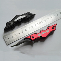 Mini Pocket Tactical Knives Camping Outdoor Tools Bat Utility Survival Folding Blade Knife Hunting Knife