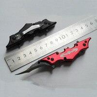 Mini Pocket Tactical Knives Camping Outdoor Tools Bat Utility Survival Folding Blade Knife Hunting Knife|Swords|Home & Garden -
