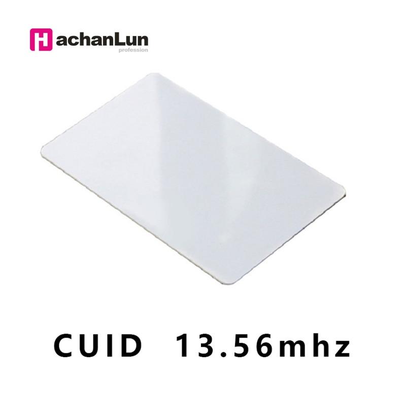 5pcs/lot RFID CUID UID CARD Modify UID Changeable NFC MF 1k S50card  Block 0  13.56MHz