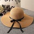 Модная летняя соломенная шляпа женские пляжные шляпы от солнца для отдыха путешествия на открытом воздухе Аксессуары для отдыха Защита от ...