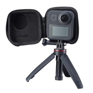 Image 3 - Portable Mini EVA Waterproof Storage Case for Gopro Max Camera Anti shake Protective Case Cage Half open Bag for Gopro Max