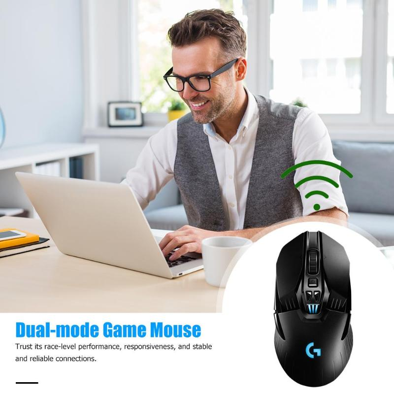 Logitech G903 LIGHTSPEED USB Wireless 16000DPI Einstellbar Gaming Maus HERO 16K Sensor Dual Modus 11 Tasten Optische Mäuse - 4