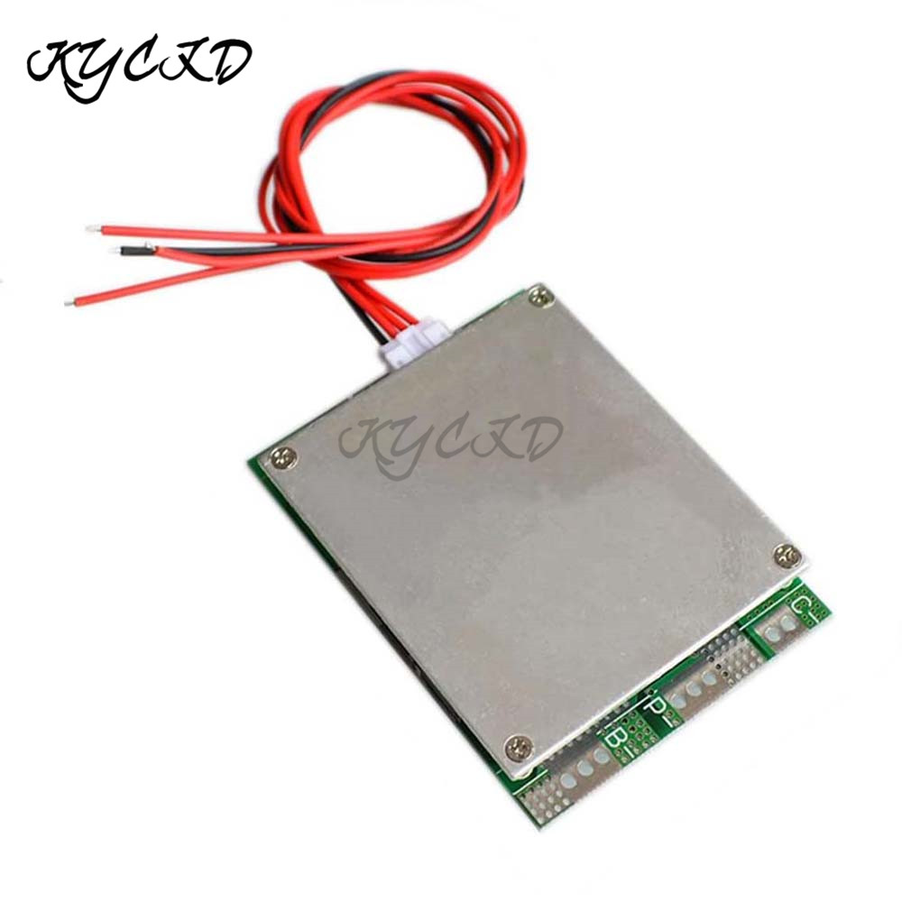 BMS <font><b>3S</b></font> 100A 12V Li-ion 18650 <font><b>Battery</b></font> Protection Board with Balancing for Ebike Inverter UPS 18650 26650 <font><b>Battery</b></font> <font><b>Pack</b></font> Charging image