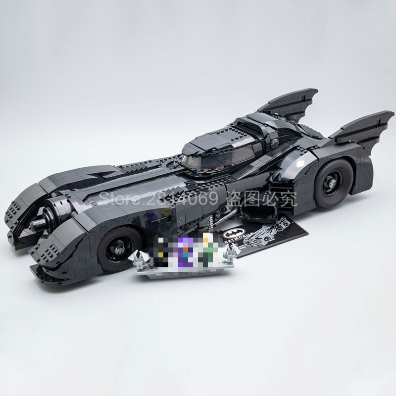 Presell 76139 Batman Super Hero 1989 Batmobile Model 3856Pcs Building Kits Blocks Bricks Toys Children Gift Compatible 59005
