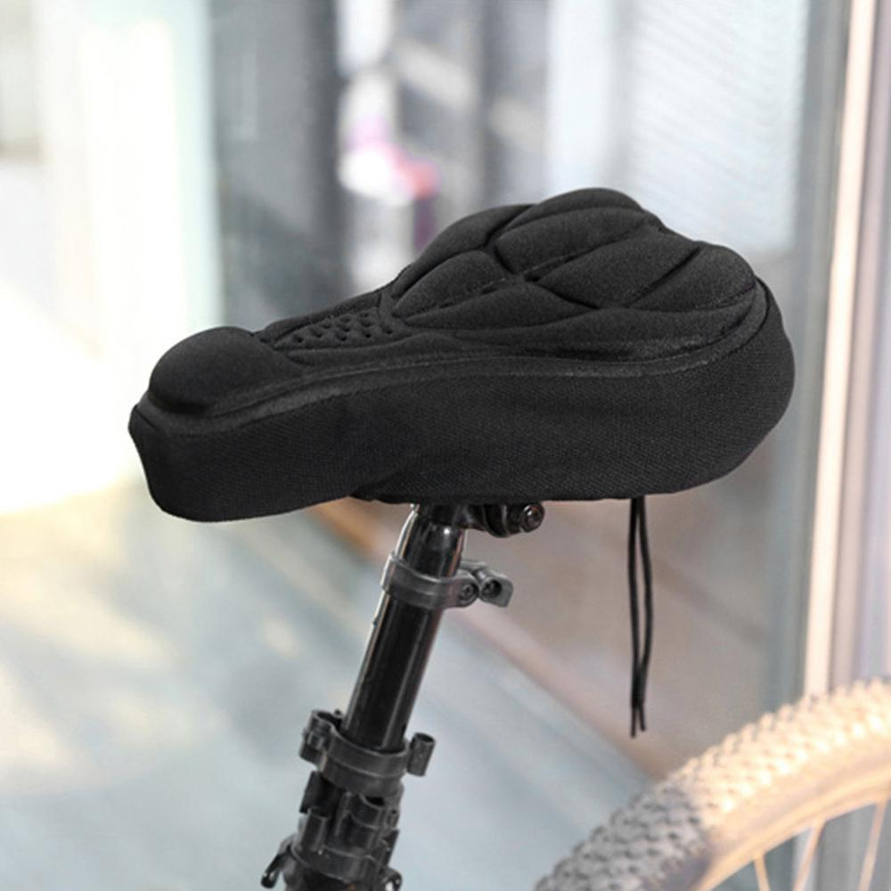 Thick Cycling Bicycle EVA Pad Seat Saddle Cover Soft Bike Cushion Pad With Anti-slipping Lining With Adjustable Drawstring ALS88