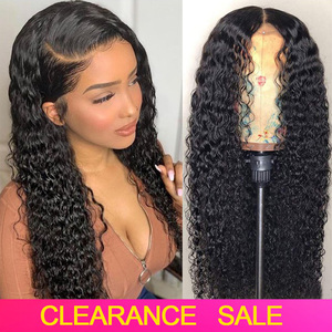 Brazilian Curly Human Hair Wigs Pre plucked 4x4 13x4 Lace Closure/Front Human Hair Wigs For Women 150% Remy Curly Lace Front Wig(China)