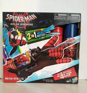 Hasbro Marvel figurki niesamowite Spider-Man rękawice Slinger 2w1 pędy wstęgi woda dzieci pistolet na wodę zestaw