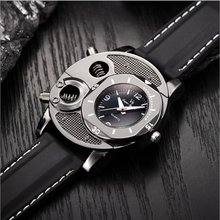 V8 New Men Casual Wristwatch Quartz Double Movement Sport Watches Supe