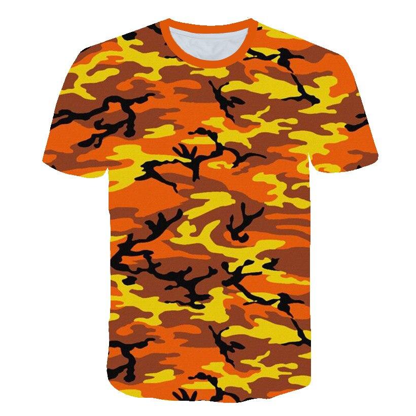 2020 Clothes Streetwear Shirt 3d T Camouflage Graffiti Outdoor Boys Girl Children Camiseta Tees Tops