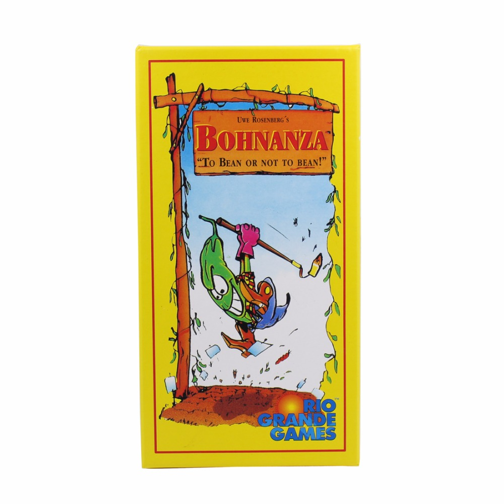 New Bohnanza Board Game Newest Version For 2-7 Playing Card Game For Kids Send English Instructions