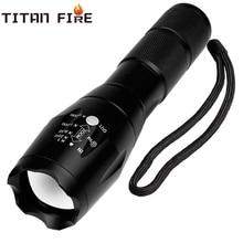 цена на Q250 Led Flashlight Ultra Bright T6/L2 Torch Zoomable 5 Modes USB TL360 Waterproof Resistant Handheld 18650 Light Bicycle Light