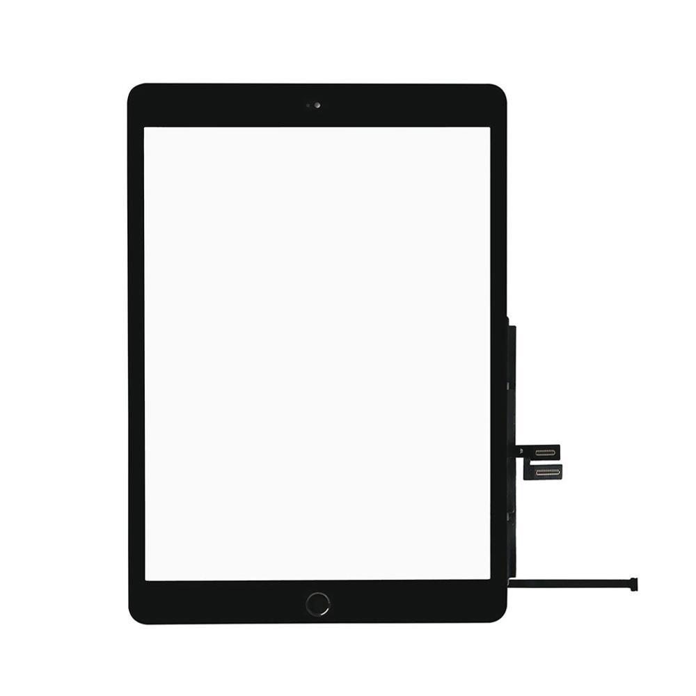 1 шт. с кнопка «Домой» для Apple iPad 7 10,2 2019 7th Gen A2197 A2198 A2200 сенсорный Экран дигитайзер внешняя стеклянная Панель Замена