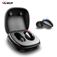 Bluetooth 5.0 Earphone Wireless Headphones for phone True Stereo Mini Earbuds HIFI 6MM Dynamic Unit With charging box
