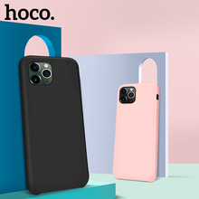 HOCO Originele Vloeibare Siliconen Case Voor iPhone 11 Pro Max X XS XS Max XR Ultra Slim Back Cover Stijlvolle premium Luxe zakelijke