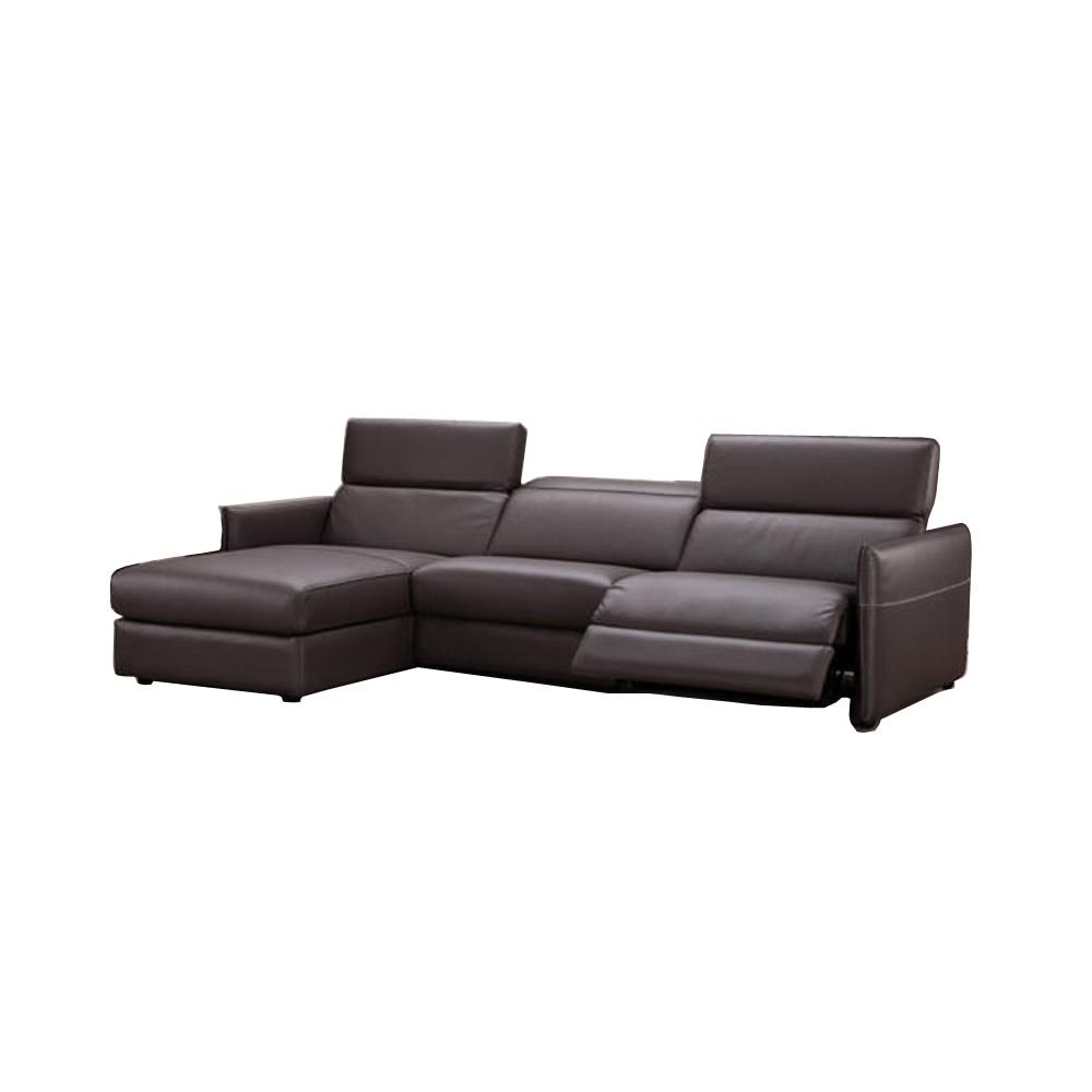 Echt Leer Fauteuil.Woonkamer Bankstel Hoekbank Fauteuil Elektrische Couch Echt Leer