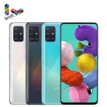 Samsung – Smartphone Galaxy A51 A515F débloqué, téléphone portable, 6 go de RAM, 2020 go de ROM, Octa Core, 4 caméras, 48mp, android 10, 6.5 pouces, 128