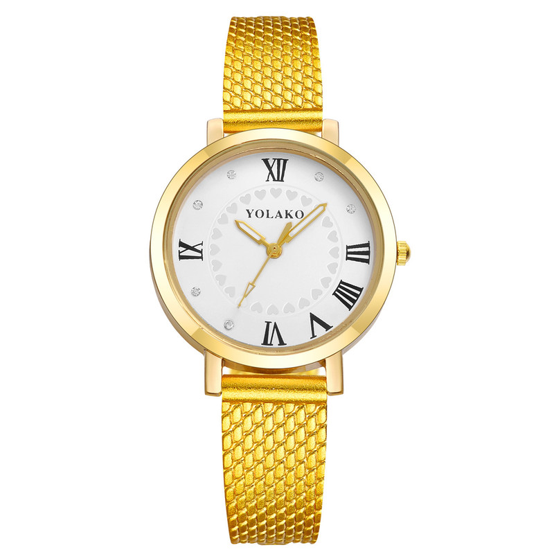 YOLAKO Middle East Popular Small Dial Female Table Contracted Fashion Ladies Quartz Watch Learning Wrist Watches