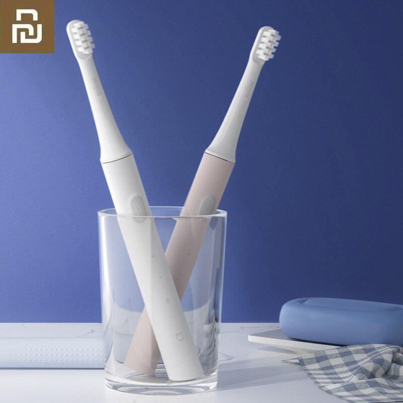 Оригинальная умная электрическая зубная щетка Xiaomi Mijia T100 Mi 46g 2 Speed Xiaomi Sonic, отбеливающая зубная щетка для ухода за полостью рта