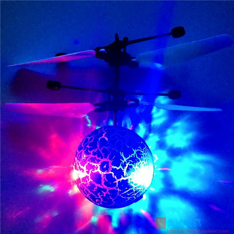 lowest price Infrared Induction Drone Flying Flash LED Lighting Ball Helicopter Child Kid Toy Gesture-Sensing No Need To Use Remote Control U