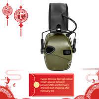 Cache-oreilles de tir électronique Sports de plein air tactiques Amplification sonore Anti-bruit casque de Protection auditive têtes tactiques