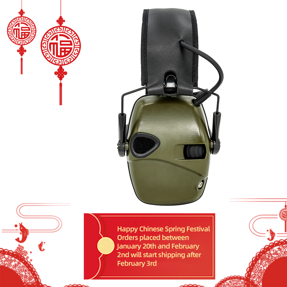 Electronic Shooting Earmuffs Tactical Outdoor Sports Anti-noise Sound Amplification Hearing Protection Headphones Tactical Heads