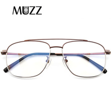 MUZZ Pure Titanium Eyeglasses Frame Men Ultralight Retro Pre