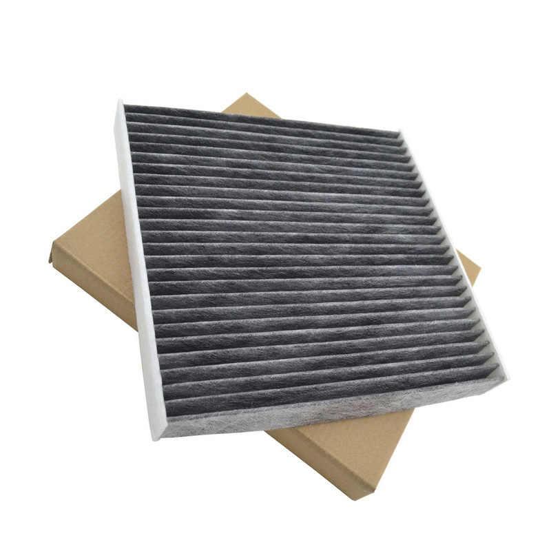 Carbon Fiber Cabine A/C Air Filter Voor Honda CR-V Civic Auto Vervangen Accessoire
