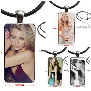 Gossip Girl Blake Lively Fashion Necklace Handmade Rectangle Shape Choker Necklace Jewelry Multi Designs For Women Jewellery image