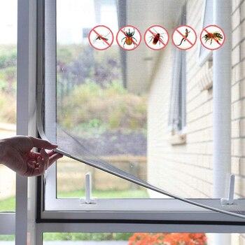 רשת נגד יתושים -הדבקה פשוטה על החלון  1