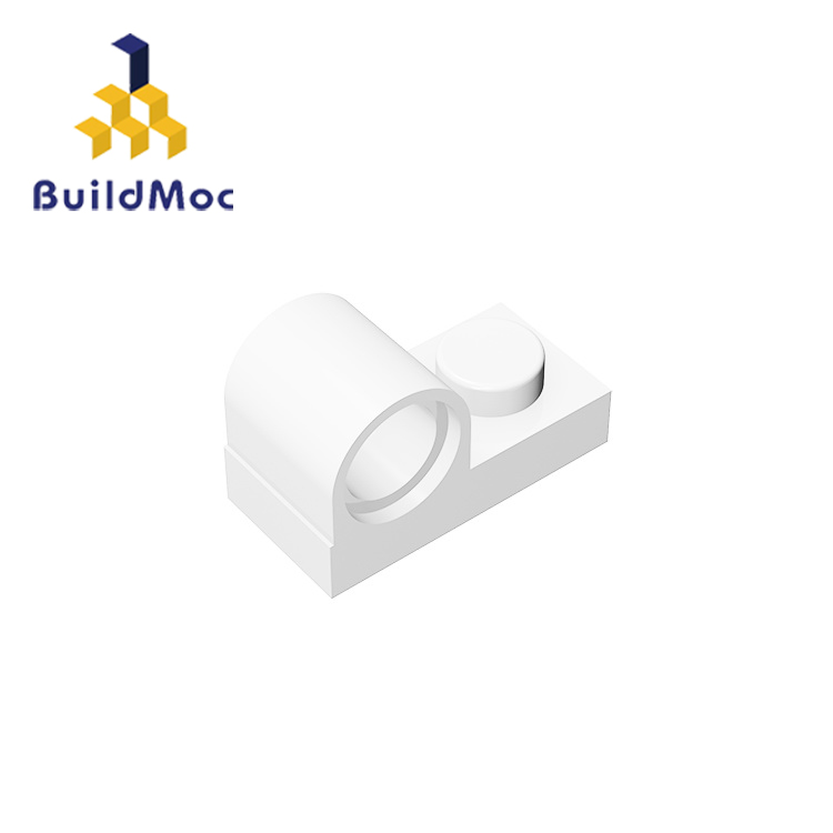 BuildMOC Compatible Assembles Particles 11458  Plate,  1x2 With Pin Hole For Building Blocks Parts DIY Educational Gift Toys