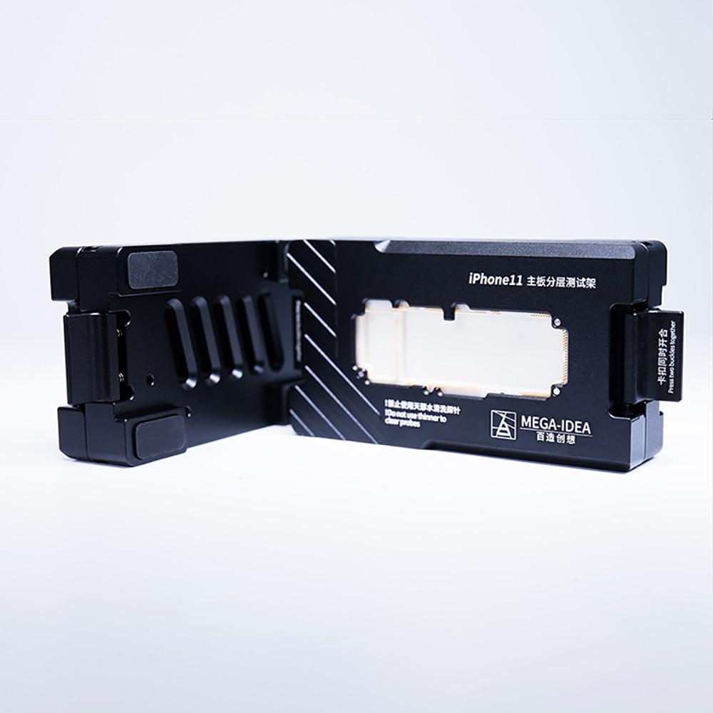 Купить с кэшбэком QIANLI BAiZAO Apple mobile phone maintenance test fixture 0.5copper high precision probe X XS XS MAX layered test maintence tool