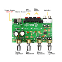 diy car TDA7056 Power Amplifier Board 2*25W 2.0 Channel Stereo Digital Audio DIY Amplifiers USB Charging DC 12V-15V For Car Home Theater (3)