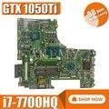 Rog GL753VD Mb. _ 0 M/I7-7700HQ/Come GTX1050/4G per Asus GL753V GL753VE Vd FX73VD Scheda Madre Del Computer Portatile REV2.0 90NB0A40-R00010 Prova di 100%