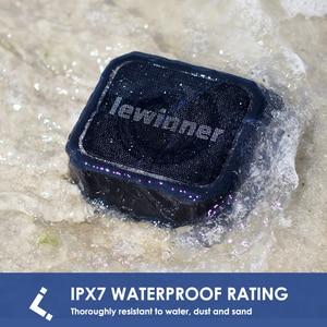 Image 4 - Lewinner X6 Bluetooth רמקול IPX7 עמיד למים טור נייד רמקול סאב עבור iphone huawei xiaomi