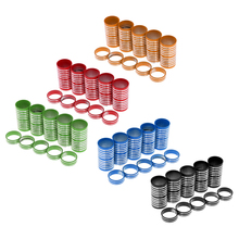 Lightweight Mountain Bicycle Head Tube Washer Bike Stem Headset Spacer Fit 1 1/8-Inch Stem 10mm x 5,60mm x 5