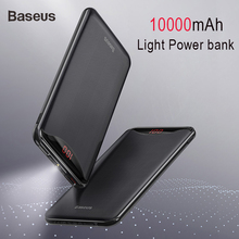 Baseus 10000mAh Power Bank Phone Charger For iPhone X Samsun