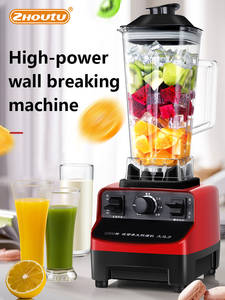 Blender Mixer Processor Milkshake-Bar Commercial-Grade High-Power 1000W Bpa-Food Heavy