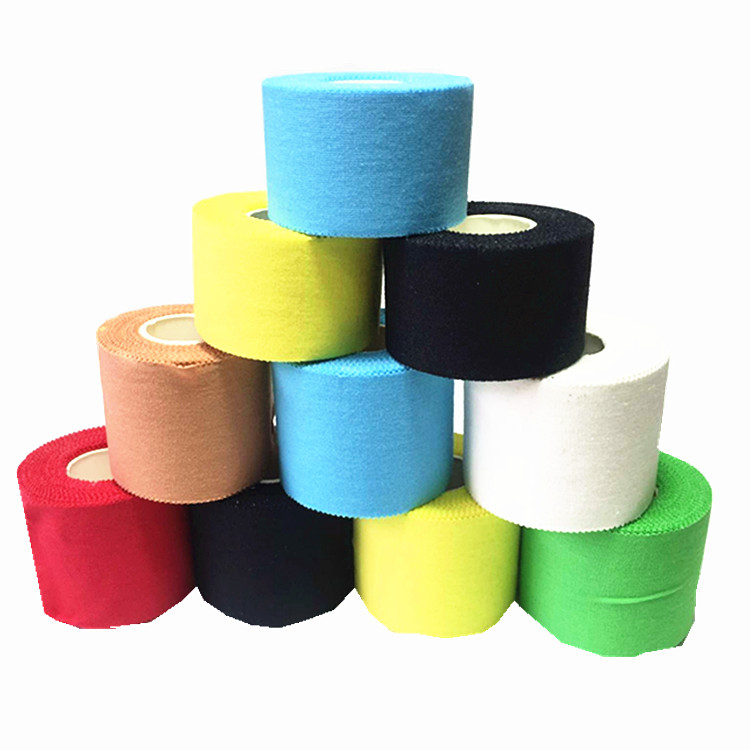 Cotton Sawteeth Edge Surgical Tape Finger Guard Ankle Elastic Stretch Bandage White Patch Sport Injury Muscle Strain Protection