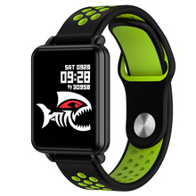 Smart Watch Laminated Display Full touch Fitness Health Tracker Push Message Waterproof For iphone IOS Android phone Smartwatch