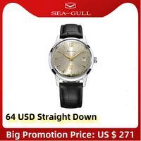Seagull-Reloj de pulsera clásico Retro 51 para hombre, reloj mecánico automático, edición reedición FKWY D51SG, nuevo