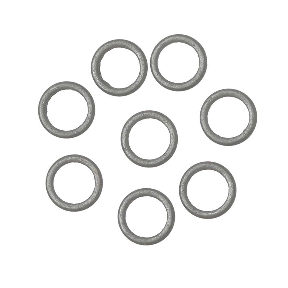End Tackle Accessory Flat Round Matt Tippet Rig Ring Carp Fishing O Ring