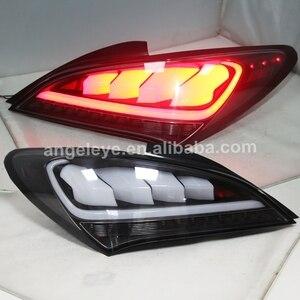 Luz traseira completa do diodo emissor de luz forhyundai para a lente clara jy do coupe 2009-2011 de genesis
