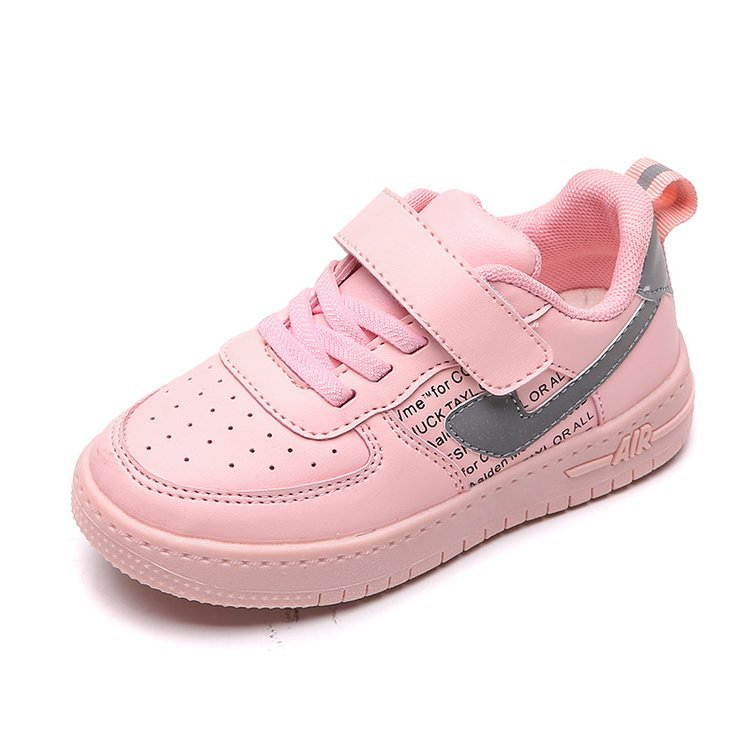 2020 Kids Shoes Sock Sneakers For Boys Girls Lightweight Sport Running Shoes Leather Breathable Kids Casual Walking Tennis Shoes